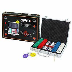 Apex Hra poker deluxe v kufríku, 200 žetónov