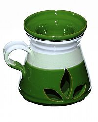 Aromalampa zelená