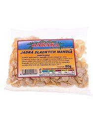 BARAKA Jadrá sladkých mandlí - hobľované 80g