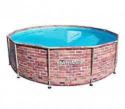 Bazén Florida 3,66 x 0,99 m. bez filtrácie - motív TEHLA