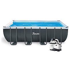 Bazén Florida Premium 2,74 x 5,49 x 1,32 m s príslušenstvom na sprevádzkovanie