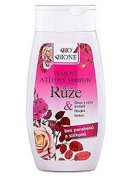 Bione vlasový a telový šampón RUŽA 260ml