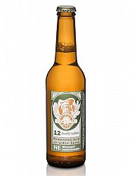 Buchvald pivo svetlý ležiak 12% 330ml