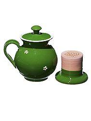 Bylinkáč - hrnček na čaj zelený