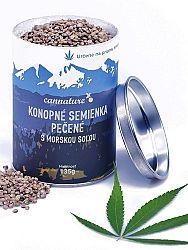 CANNATURE Konopné semienka pečené s morskou soľou 135g