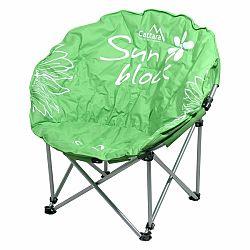 CATTARA FLOWERS kempingová skladacia stolička zelená
