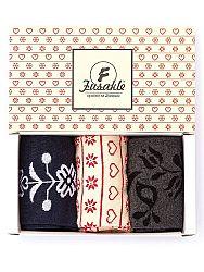 Darčeková krabička srdiečka 3ks S 35 - 38