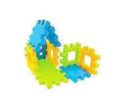 Detské plastové kocky Wafle 20 ks