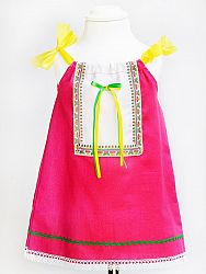 Dievčenské ľudové šaty ALICA 2v1