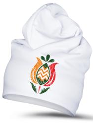 Folklórna čiapka tulipán 1 retro