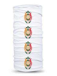 Folklórna multifunkčná šatka tulipán 1 retro