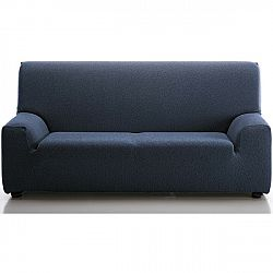 Forbyt Multielastický poťah na sedaciu súpravu Petra modrá, 140 - 200 cm