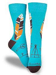 Fusakle ponožky Apač M 39 - 42
