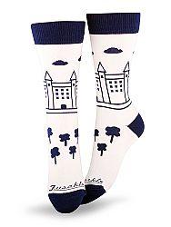 Fusakle ponožky Bratislava hrad M 39 - 42