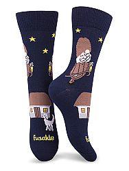 Fusakle ponožky deduško večerníček M 39 -42