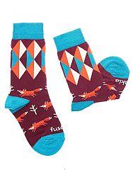 Fusakle ponožky detský lišiak M 31 - 35