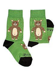 Fusakle ponožky detský macko M 31 - 35