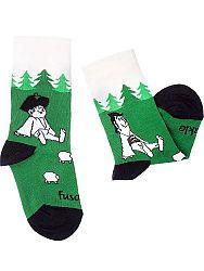 Fusakle ponožky detský Maťko a Kubko M 31 - 35