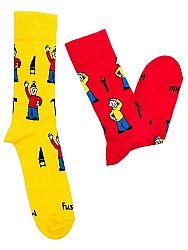 Fusakle ponožky detský Pat a Mat M 31 - 35
