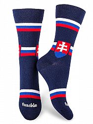 Fusakle ponožky hockej fun Slovensko M 41 - 45