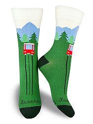 Fusakle ponožky Hrebienok M 39 - 42
