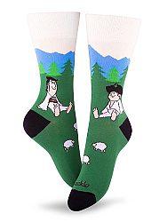 Fusakle ponožky Maťko a Kubko M 39 - 42