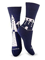 Fusakle ponožky Michalská veža M 39 - 42