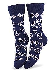 Fusakle ponožky modrotlač čičmany M 39 - 42