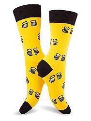 Fusakle ponožky Na zdraví žlté M 39 - 42