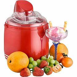 Kalorik ICE 2500 R zmrzlinovač/jogurtovač Retro, červená