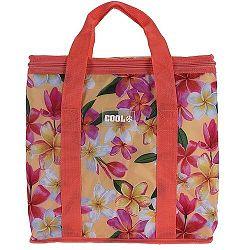 Koopman Chladiaca taška Tropical flowers červená, 16 l