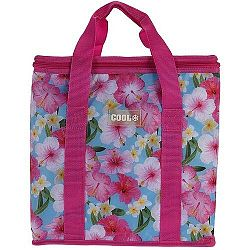 Koopman Chladiaca taška Tropical flowers ružová, 16 l