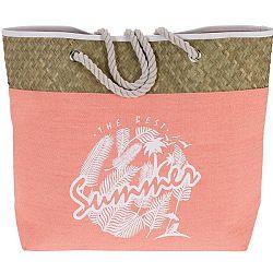 Koopman Plážová taška The best summer, ružová
