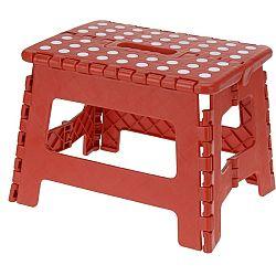 Koopman Skladacia stolička červená, 29 x 22 cm