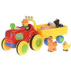 Koopman Traktor s prívesom, 38 cm