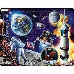 Larsen Puzzle Apollo 11, 50 dielikov