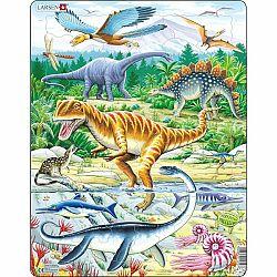 Larsen Puzzle Dinosaury, 35 dielikov