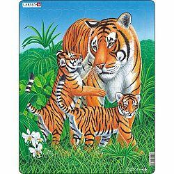 Larsen Puzzle Tigria rodinka, 23 dielikov
