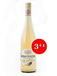 Levanduľové víno biele Levanduland 0,75l 3+1 grátis