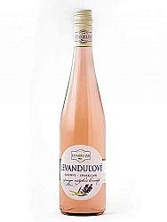 Levanduľové víno ružové Levanduland 0,75l