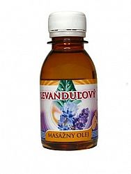 Levanduľový masážny olej 0,1l