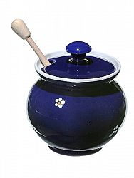 Medník modrý - nádoba na med