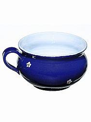 Miska bujónka modrá