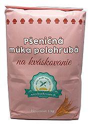 MLYN TRENČAN Pšeničná múka polohrubá na kváskovanie 1kg