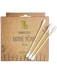 Mobake bambusové vatové tyčinky do uší 100ks