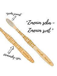 Mobake motivačná bambusová kefka