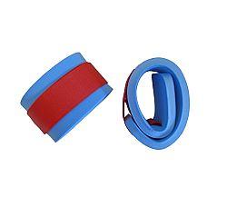 Nadľahčovacie rukávniky na suchý zips - modré