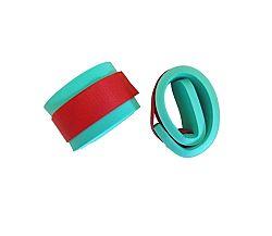 Nadľahčovacie rukávniky na suchý zips - zelené