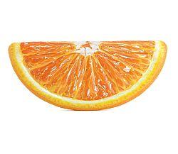 Nafukovacie lehátko - pomaranč
