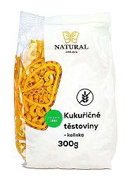 NATURAL JIHLAVA Kukuričné cestoviny - kolienka 300g